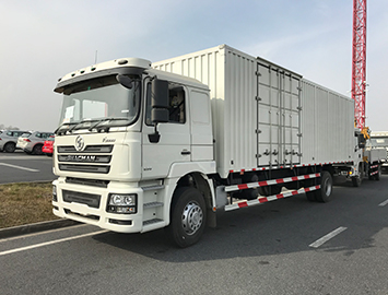 Shacman F3000 4x2 Steel Box Truck