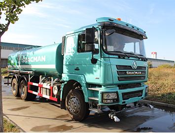 Shacman F3000 Water Sprinkler Truck, 20 cubic meter water tank volume.
